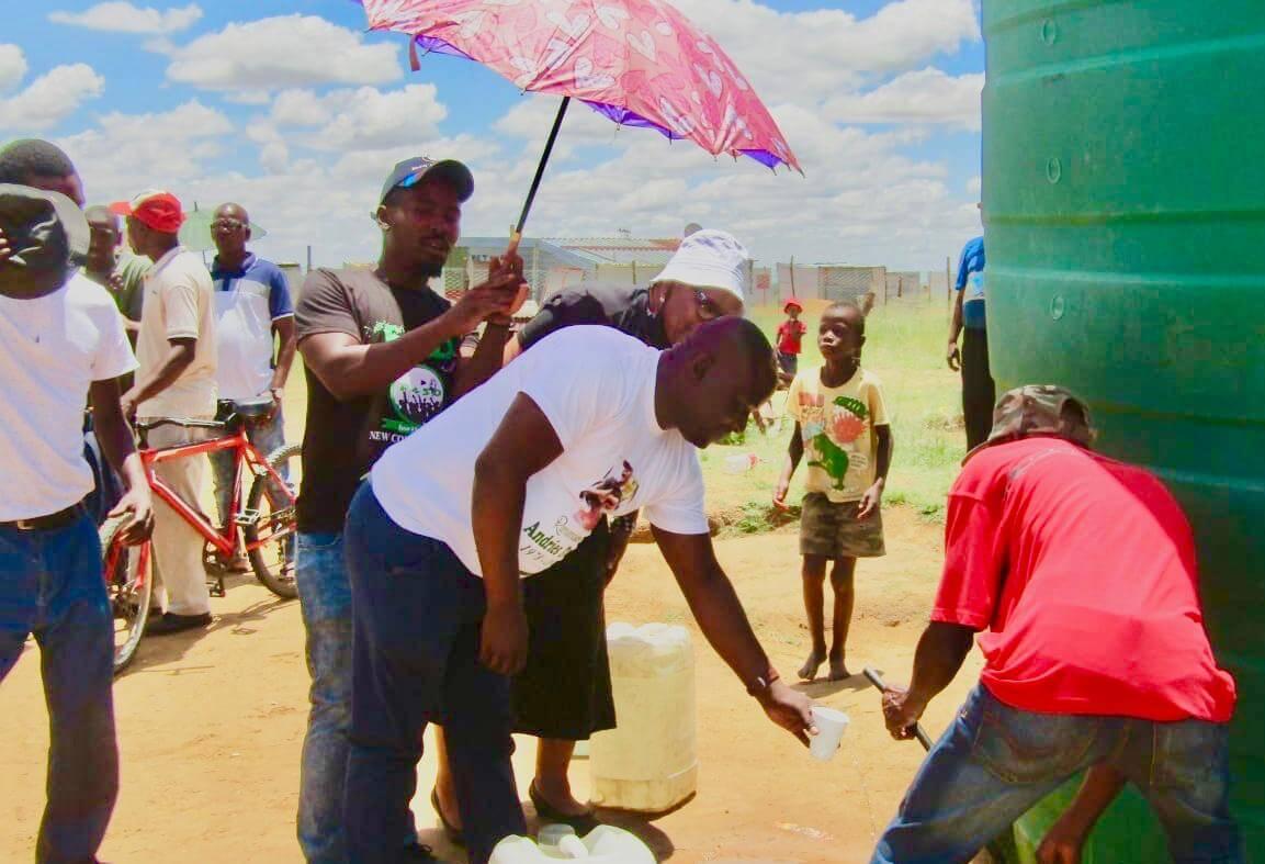 FS Water Tank Donation