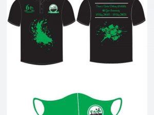 Combo -Mask and Golf Shirt